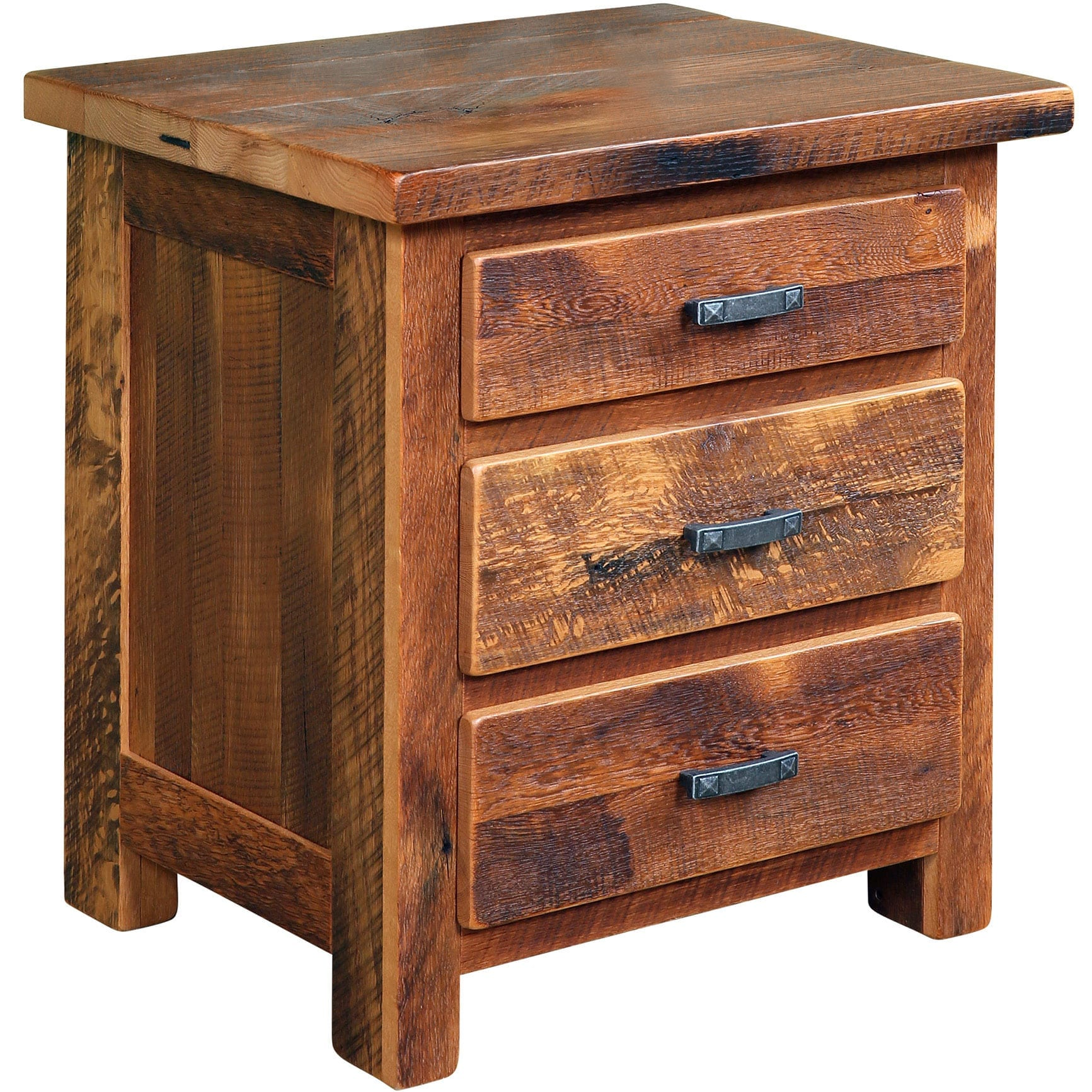 Farmhouse 3 Drawer Nightstand Yoder S Home Furnishings